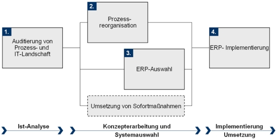 Konzept und Vorgehensweise zur ERP-Auswahl und -Implementierung