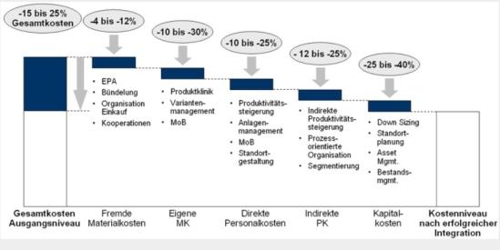 Einsparpotenziale durch ein ganzheitliches Integrationsmanagement