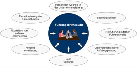 Zielsetzungen des Personal- und Führungskräfteaudits