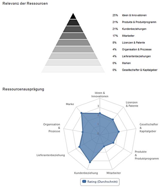 Auswertung von verborgenen Ressourcen im Unternehmen