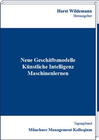 Buchcover des Tagungsbands des Münchner Management Kolloquiums 2020